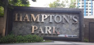 papan nama hampton